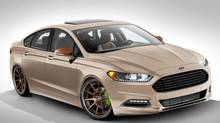 2013 Ford Fusion with a 2.0L EcoBoost engine (Ford)