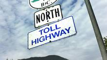 The Coquihalla Highway between Hope and Merritt, B.C. (John Lehmann/The Globe and Mail)