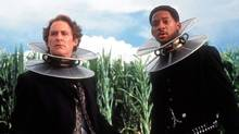 "Kevin Kline (left) and Will Smith in a scene from ""Wild Wild West"" (Murray Close/AP)"