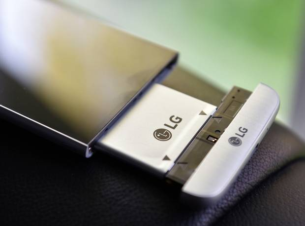 The LG G5 is the first unibody metal phone with a removable battery.