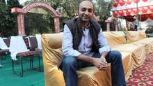 Pakistani novelist Mohsin Hamid on the set of the film version of his Reluctant Fundamentalist. (Stephanie Nolen/The Globe and Mail)