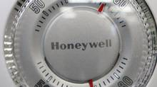 A Honeywell thermostat is shown in Portland, Ore., manufacturing company. (Rick Bowmer/AP)