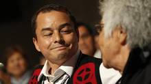 AFN National Chief Shawn Atleo emerged Wednesday from three days of meetings with first nations leaders and educators saying they had agreed to reject the federal government's approach to overhauling native education. (PETER POWER/THE GLOBE AND MAIL)