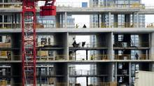 Toronto's enormous condo market is being closely watched as a measure of the Canadian housing industry's health. (Kevin Van Paassen/The Globe and Mail)