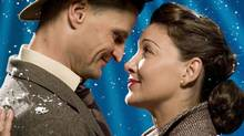 Kirsten Robek and Bob Frazer in It's a Wonderful Life. (David Cooper / The Globe and Mail/David Cooper / The Globe and Mail)