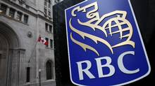 A Royal Bank of Canada (RBC) logo is seen at a branch in Toronto. (© Mark Blinch / Reuters/REUTERS)