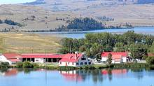 The Douglas Lake Ranch near Merritt, B.C., is the largest working cattle ranch in Canada. (S. Paul Varga/Vancouver Sun/The Canadian Press)