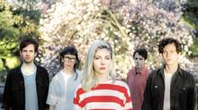 Molly Rankin, centre, fronts indie-pop troupe Alvvays (Gavin Keen)
