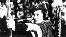 Erroll Flynn as Robin Hood