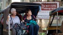 "Judi Dench (left) and Celia Imrie in a scene from ""The Best Exotic Marigold Hotel"" (Ishika Mohan)"