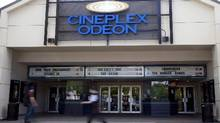 File photo of a Cineplex theatre in North Vancouver. (Jonathan Hayward/The Canadian Press)