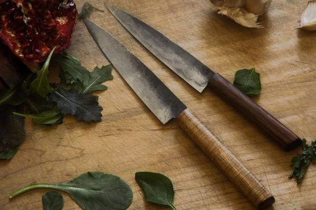 Knives from Halifax-based Grindhouse Blade Care and Ware.