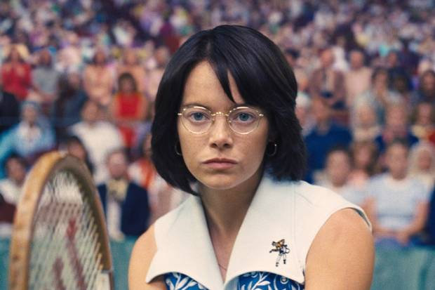 Emma Stone in Battle of the Sexes.