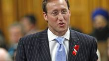 Defence Minister Peter MacKay speaks during Question Period in the House of Commons on Monday, November 30, 2009. (BLAIR GABLE)