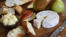 Bliss cheese and butter from Ontario's Monforte Dairy. (Deborah Baic/The Globe and Mail/Deborah Baic/The Globe and Mail)