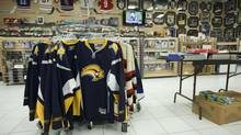Sports memorabilia is seen in this file photo. (Tim Fraser For The Globe and M