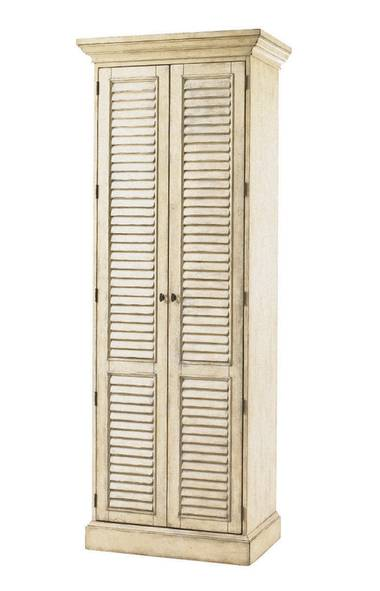 Barrymore's handsome antique-inspired Hartley Cabinet contains two lower drawers and up to 10 shelves hidden behind a pair of dramatic full-length louvered doors. $2,960 at Barrymore Furniture (www. barrymorefurniture.com). (Handout/Handout)