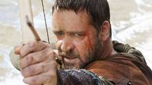 Russell Crowe in a scene from Robin Hood. (Kerry Brown/Universal Pictures/AP)
