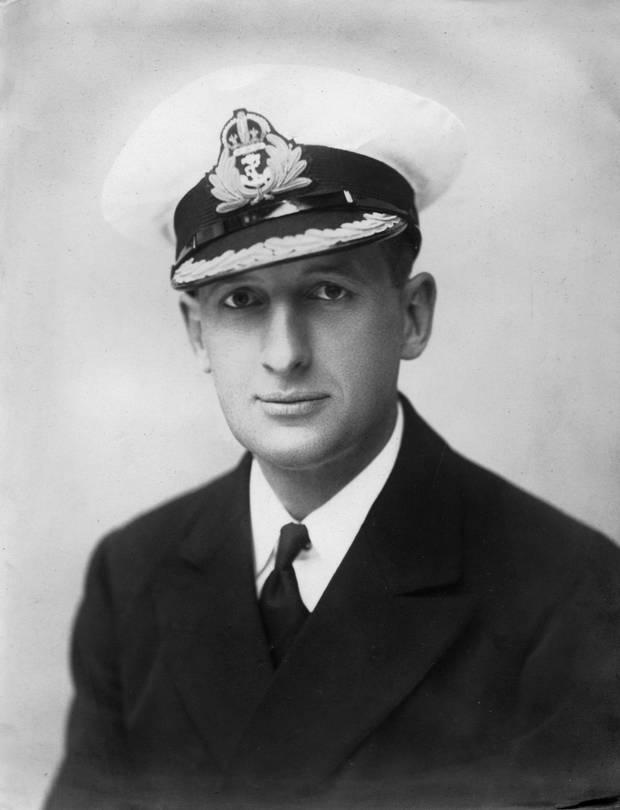 Commander J. Campbell Clouston, Royal Navy photo courtesy Dane Clouston