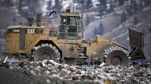 The Cache Creek landfill in Cache Creek, B.C. is seen in a March 2009 file photo. (JOHN LEHMANN/The Globe and Mail)