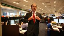 Morgan Stanley CEO James Gorman has guided the firm in a more cautious direction in the wake of the financial crisis. (CHESTER HIGGINGS JR./NYT)
