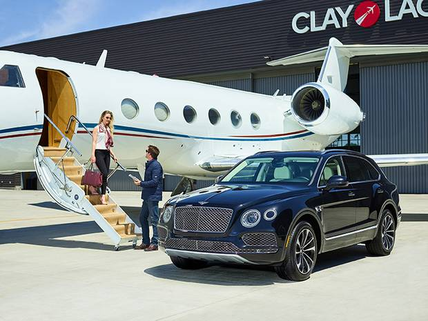 Bentley introduced its new SUV, the Bentayga, in 2016. It goes for $241,900.