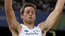Australia's Mitchell Watt competes in the Men's Long Jump final at the World Athletics Championships in Daegu, South Korea, Friday, Sept. 2, 2011. (AP Photo/Kin Cheung) (Kin Cheung/AP)
