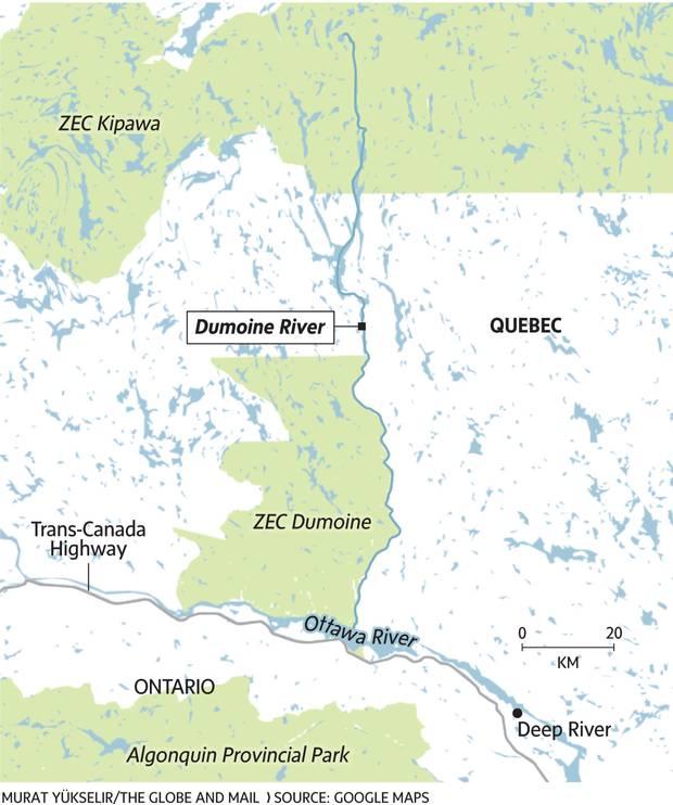 Quebecs Dumoine River an escape into true wilderness The Globe