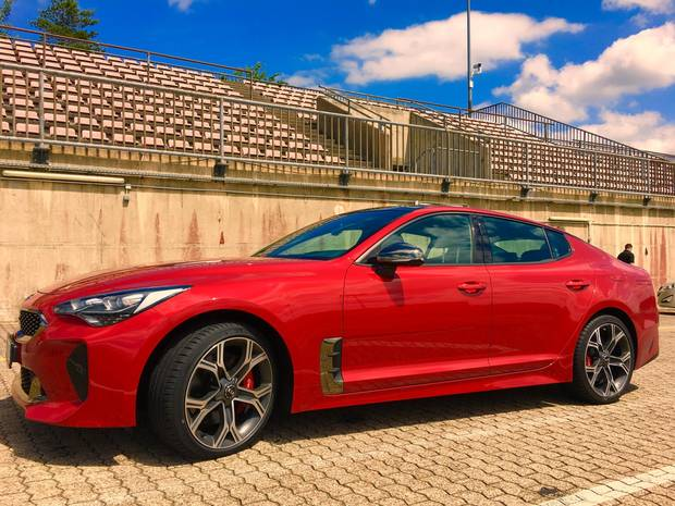 2018 kia gt. perfect 2018 the 2018 kia stinger gt to kia gt