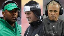 Corey Chamblin of the Saskatchewan Roughriders, Hamilton Tiger-Cats head coach Kent Austin and Calgary Stampeders head coach John Hufnagel are the three nominees for the CFL coach of the year award.