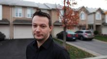 Sicco Naets, 39, is a manager in Ottawa. He says he's further ahead in his job than his parents were at his age. 'But my standard of living is a lot lower than theirs was.' (DAVE CHAN FOR THE GLOBE AND MAIL)