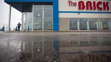 A location of The Brick in Mississauga, Ont. on March 12, 2012. The chain has been ordered by a B.C. judge to pay uncollected taxes plus penalties relating to its 'buy now, pay later' program. (Tim Fraser For The Globe and Mail)